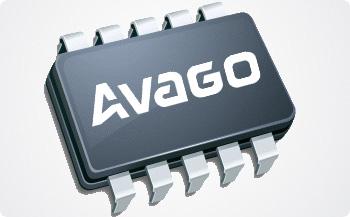 Avago公司(安华高)的LOGO